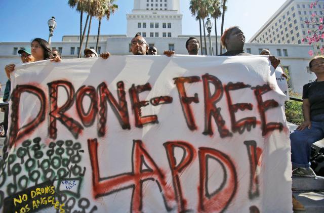 Los Angeles police will test drones despite privacy concerns