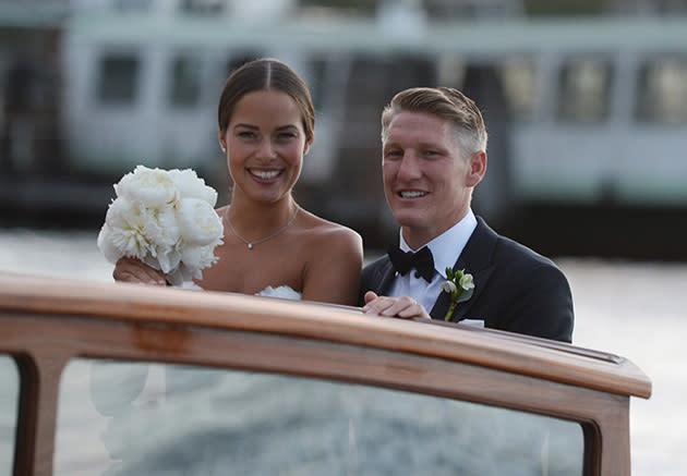 Hochzeit Von Bastian Schweinsteiger Und Ana Ivanovic Er War Nicht