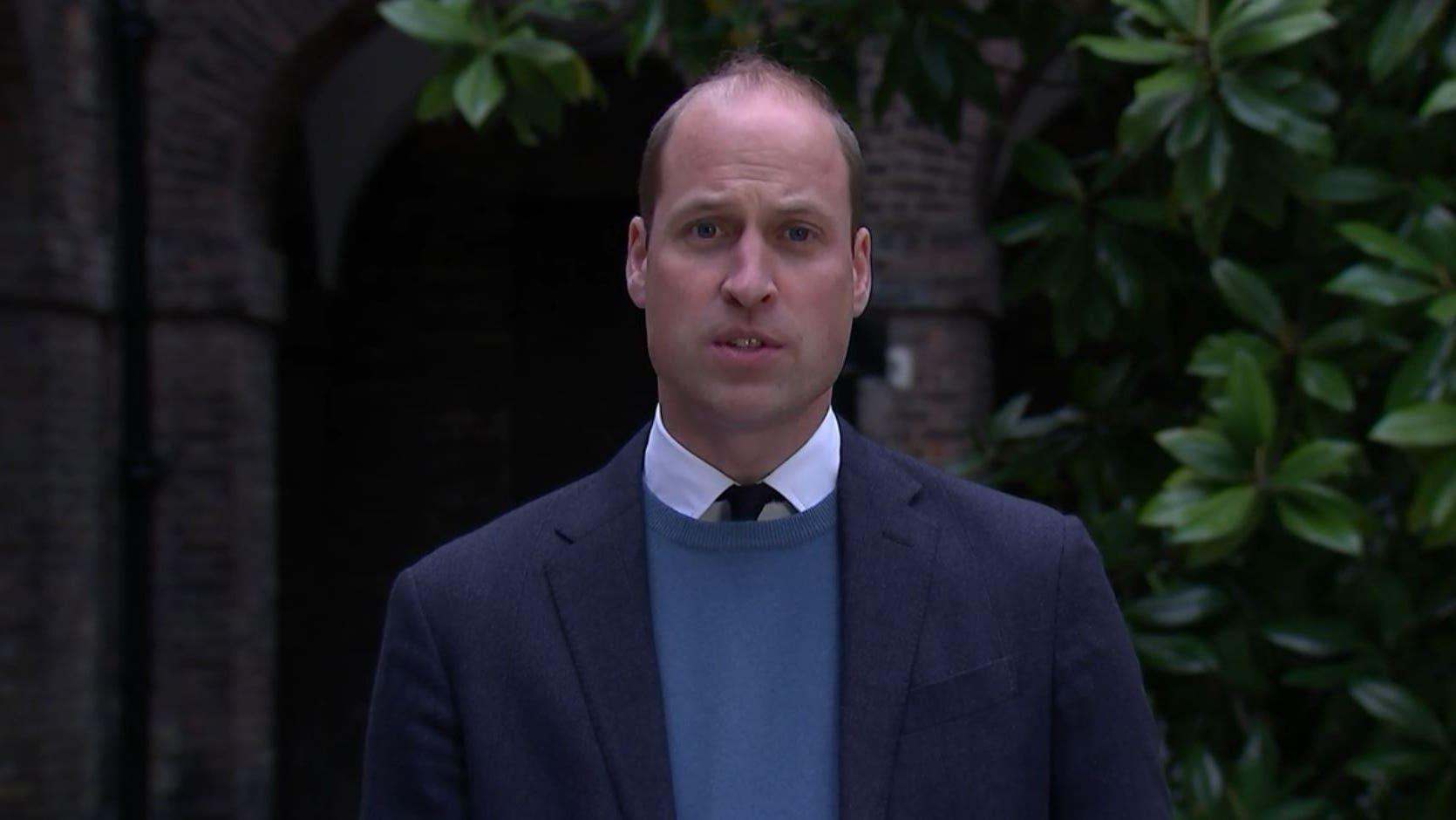 William: Panorama interview fuelled my mother's paranoia