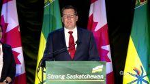 Saskatchewan election 2020: Scott Moe says he intends to build a 'strong Saskatchewan for everyone'