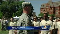 Military heroes honored on Army's birthday