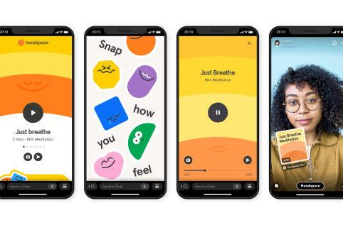 Snapchat's third-party 'Mini' apps are live