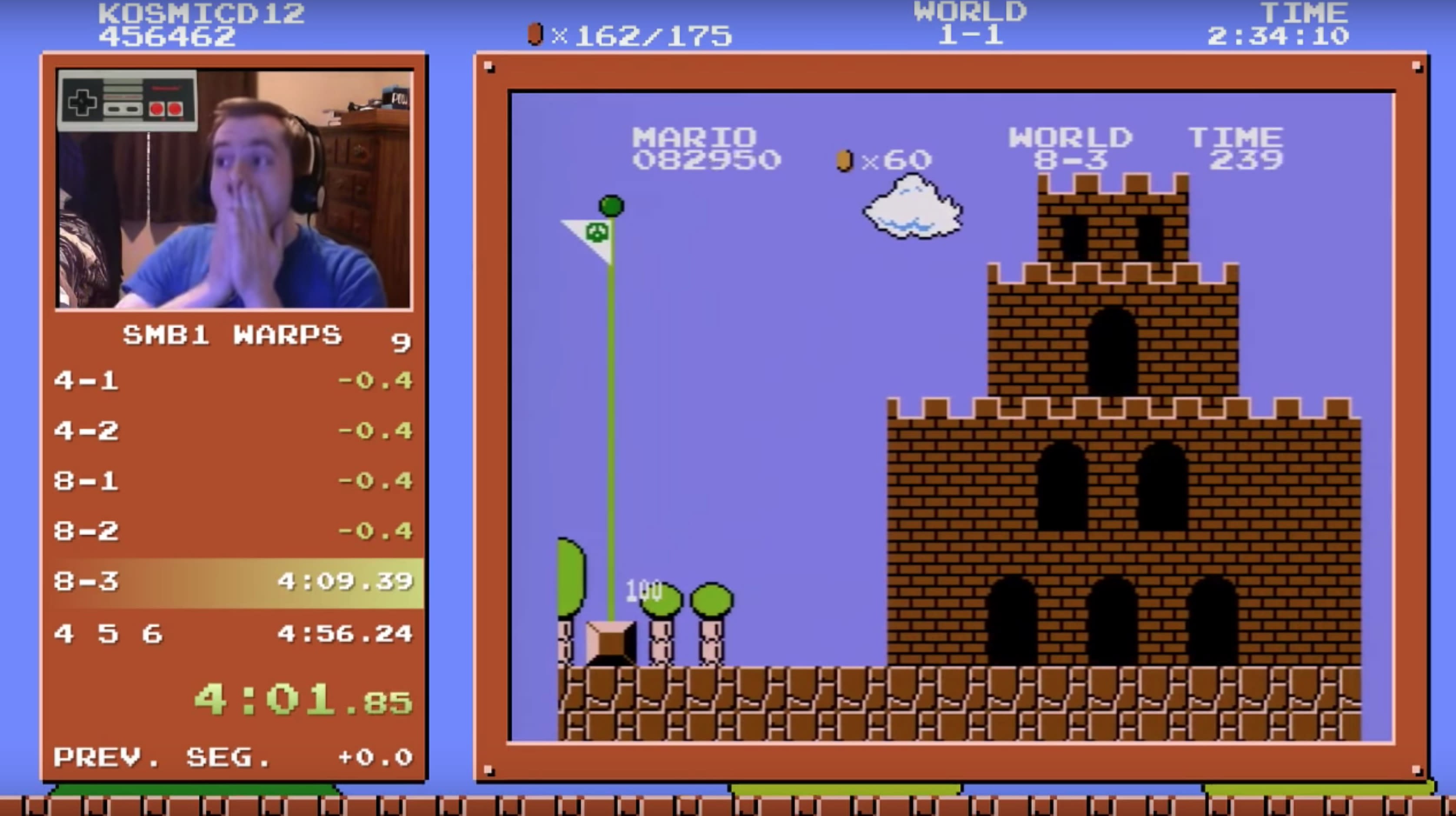 Gamer Just Beat 'Super Mario Bros ' In A Time Many Thought Impossible