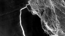 Mammoth Antarctic iceberg is on the move, while the ice shelf it left behind grieves its loss