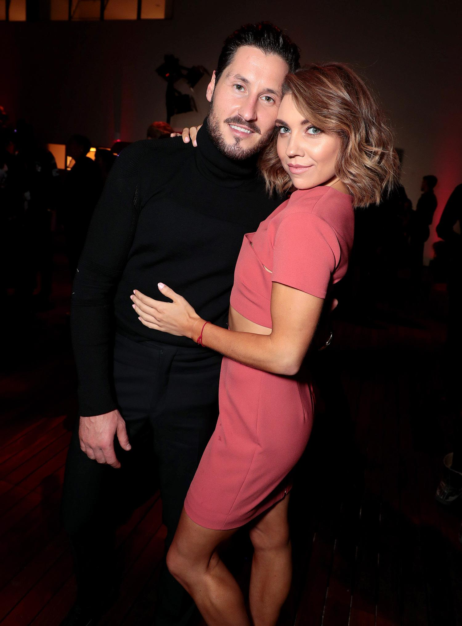 Who is val from dwts dating now