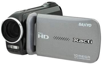 Sanyo launches Xacti VPC-GH4 full HD camcorder with YouTube, Facebook integration
