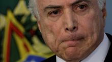 Temer calls graft charge a 'fiction' that will hurt Brazil's economy