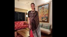 Aditi Rao Hydari Ups Her Style Statement With This Sari And Hairdo