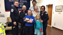 Teen EMT delivers her 1st baby, born 2 weeks early, in couple's bedroom