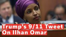 Ocasio-Cortez says Ilhan Omar's 'life is in danger' after Trump tweets 9/11 video