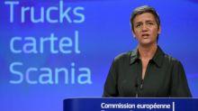 Bruselas impone una millonaria multa a Scania por un cártel de fabricantes de camiones