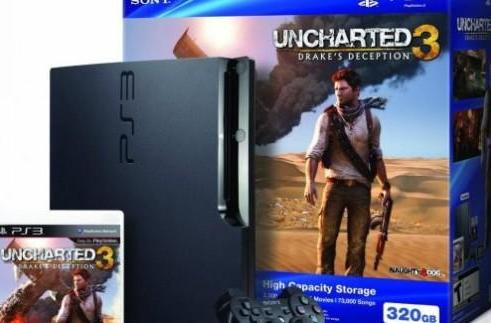 Amazon Gold Box features $250 320GB PS3 Uncharted 3 bundle