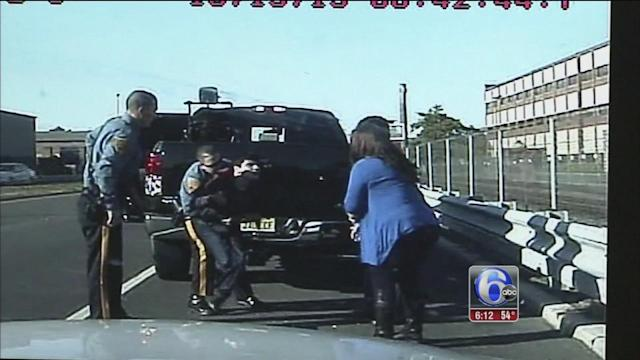 Troopers pull over to save choking child