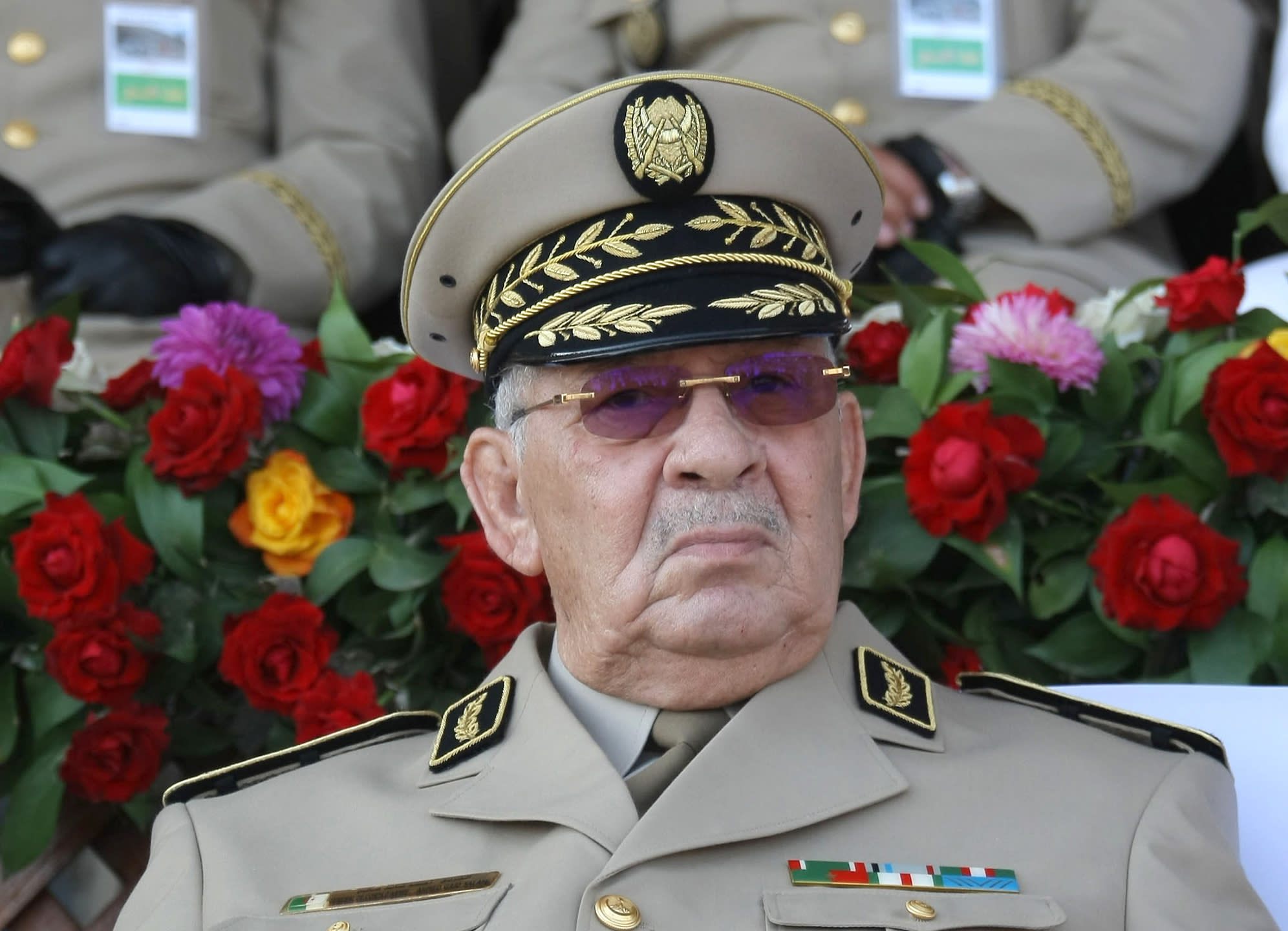 Algeria's military strongman Salah dies of heart attack