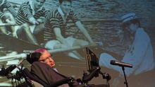 Professor Stephen Hawking says, 'we need to find a new planet - and soon'