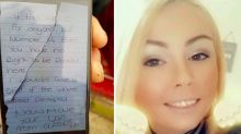 'Despicable' woman who posted abusive note on ambulance windscreen is fined