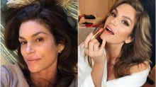Cindy Crawford presume de belleza natural en Instagram con un selfie sin maquillaje