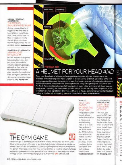 Popular Science names Wii Fit one of this year's best inventions