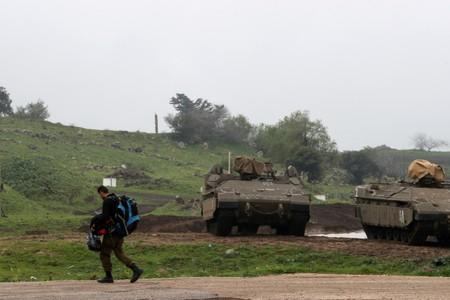Israel strikes Syria after rockets fired at Golan