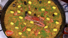 Seafood Paella for National Paella Day