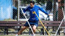 Cruzeiro confirma empréstimo de Ariel Cabral para o Goiás