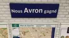La RATP célèbre la victoire des Bleus : six stations de métro renommées