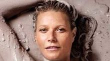Gwyneth Is Naked And Literally Covered In 'Goop' On New Mag Cover