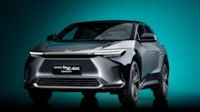 New Toyota bZ4X previews firm's first electric vehicle