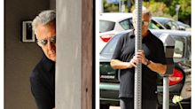 Estos famosos reaccionaron de forma épica al notar la presencia de los fotógrafos