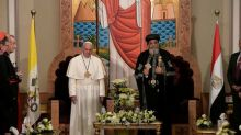Pope celebrates Mass in Cairo, urges unity against fanaticism