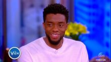 Chadwick Boseman reacts to viral video of kids learning they'll see 'Black Panther'