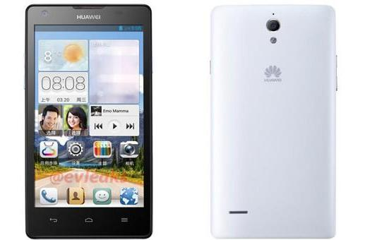 Huawei's Ascend G700 exposed, may be Ascend D2's cheaper cousin