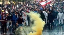 Hundreds injured in Lebanon as violence flares in 'week of anger'