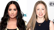 Chelsea Clinton provides moral support to Demi Lovato — and who knew they were even friends?!