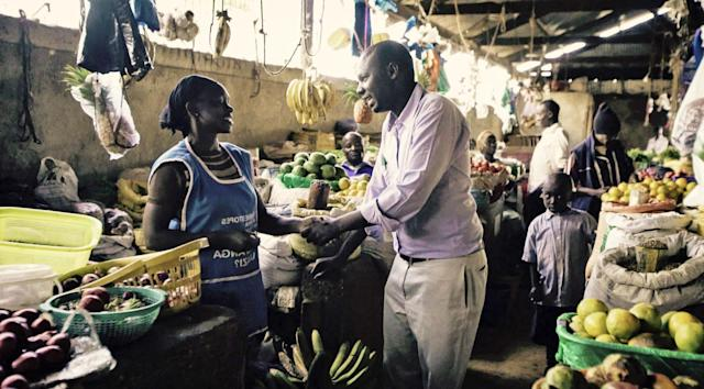 Mastercard built a mobile marketplace for farmers in East Africa