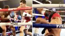 'What a monster': Boxing world freaks out over 'scary' KO