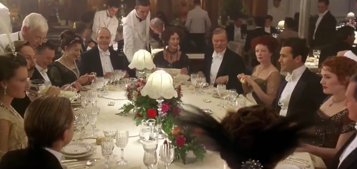 The titanic museum hosts secret dinner parties for Secret dinner party