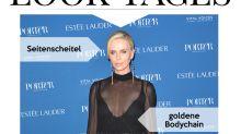 Look des Tages: Charlize Theron in glamourösem Schwarz
