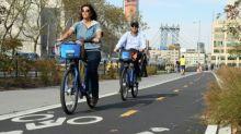 Free wheelin' in New York: the Big Apple bike boom