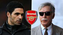 Arteta has direct line to Arsenal owner Kroenke as he waits to discover transfer budget