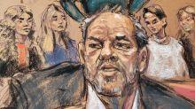 Courtroom artist describes the scene at Harvey Weinstein's sentencing: 'He looked bad'