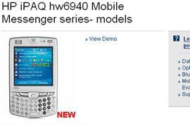 HP iPAQ hw6940 hits retail channels, finally