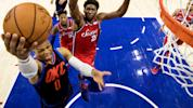 Westbrook, Embiid get after it in 3OT thriller