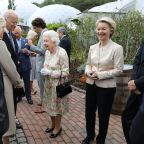 G7 Leaders, Queen Elizabeth, Dine at the Eden Project in Cornwall