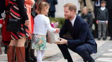 Prince Harry tells well-wishers how 'excited' he is for birth of royal baby