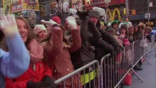 Time Square prepares for New Years celebration
