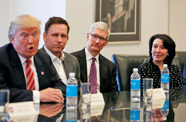 Apple, Microsoft and others supported staying in the Paris climate pact