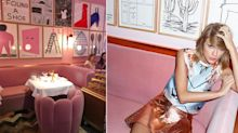What it's really like inside London's Insta-famous pink restaurant