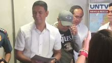 Prime suspect in the death of law student Horacio Castillo III surrenders to Sen. Lacson