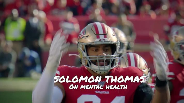 NFL Mental Health Wellness Series Solomon Thomas